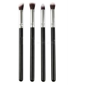 Weanty アイシャドウ化粧ブラシ アイブラシ美容化粧道具 4本セットメイクアップブラシ アイライナーブラシセット