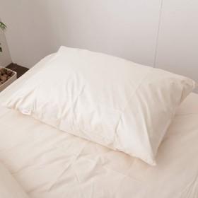 テイジン ミクロガード(R)枕カバー 防ダニ 防塵 アレルギー対策 国産/ベージュ
