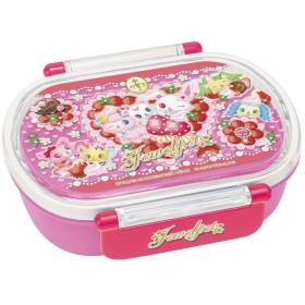 食洗機対応 タイトランチボックス 小判 360ml ジュエルペット イチゴ