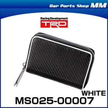 TRD MS025-00007 リアルカーボンウォレット ホワイト CARBON WALLET グッズ