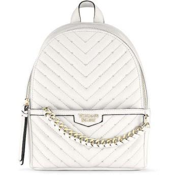 VICTORIA'S SECRET ヴィクトリアシークレット/ビクトリアシークレット V-キルトスモールシティバックパック/リュック/Studded V-Quilt Small City Backpack [並行輸入品]