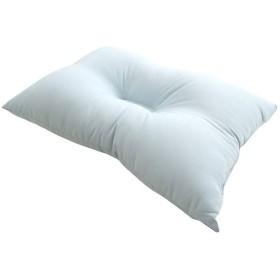 京都西川 くぼみ型 洗える 枕 35×50cm ブルー DACRONデュラライフ中わた使用 清潔 速乾 頚椎サポート