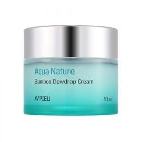 APIEU Aqua Nature Bamboo Dewdrop Cream [Korean Import]