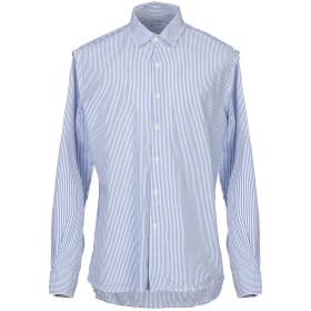 《期間限定セール開催中!》ORIGINAL VINTAGE STYLE メンズ シャツ ブルー S コットン 100%