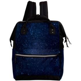 CHENYINAN リュックサック リュック 学生 レディース 宇宙柄 星 空 銀河 メンズ 大容量 マザーズバッグ がま口 バックパック 通勤通学 デイバッグ かわいい おしゃれ