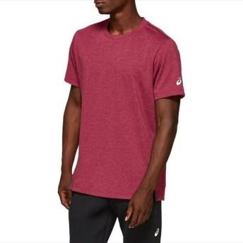 [asics]アシックス メンズ トレーニングウェア M ウールブレンド 半袖Tシャツ (2031A938)(600) チリフレーク[取寄商品]