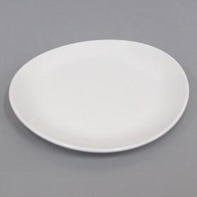 だ円皿 白 20.5cm×18.5cm【10枚セット】業務用食器 メラミン製和食器_FH70198TW-10