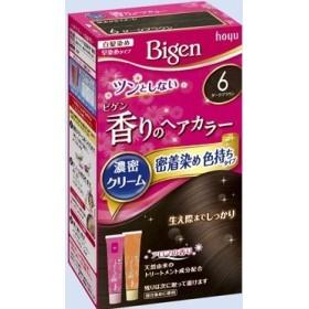 ビゲン 香りのヘアカラー クリーム 6 ダークブラウン × 5個セット