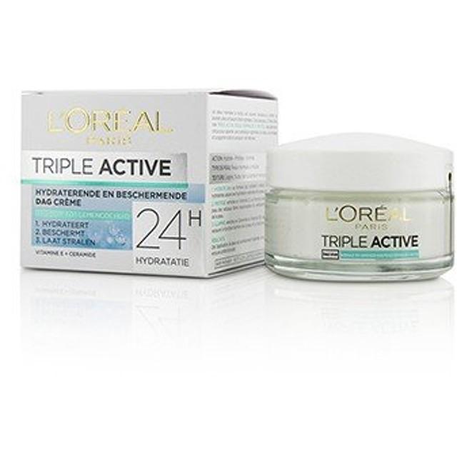 ロレアル Triple Active Multi-Protective Day Cream 24H Hydration - For Normal/ Combination Skin 50ml