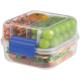 SnapLock by Progressive Lunch Cube To-Go Container, Blue