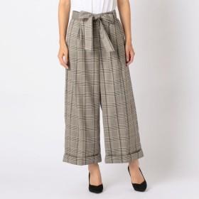 [マルイ] チェックワイドパンツ/ミューズ リファインド クローズ(MEW'S REFINED CLOTHES)