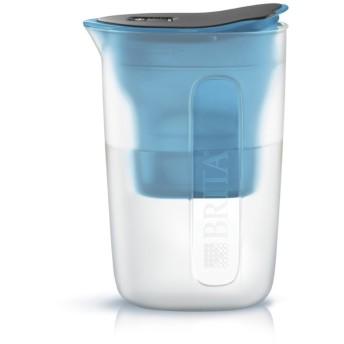 ブリタ 浄水器 ポット 浄水部容量:1.0L(全容量:1.5L) ファン ブルー マクストラプラス カートリッジ 1個付き 【日本仕様・日本正規品】