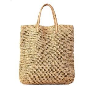 カゴバッグ 肩掛け 斜めがけ PROKTH 人気 レディース カゴバッグ 草編みバッグ ストローバック ラタンバッグ ビーチバック お出かけにもぴったり 浴衣や夏の着物に似合う
