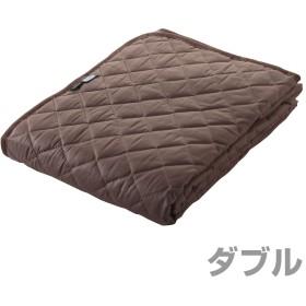 トクナガ アウトラスト®敷パッド 国産 ダブル ブラウン OLAMSP-3BR