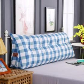 綿のベッドクッション、リムーバブルと洗える畳のソフトバッグダブルベッドのバックレスト (色 : E, サイズ さいず : 90  50cm)