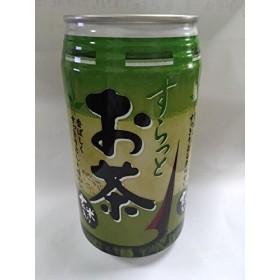 すらっとお茶 玄米入り 沖縄産 340g缶×24缶 (2箱)