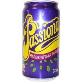 Australian Schweppes Passiona Passionfruit Drink 375ml. Can by Schweppes Australia [並行輸入品]