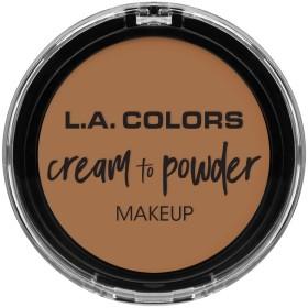 L.A. COLORS Cream To Powder Foundation - Soft Honey (並行輸入品)