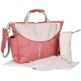 Urban Sumo Messenger Diaper Bag & Backpack By Okiedog (Coral) by okiedog