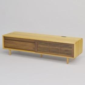 【送料無料】無垢 TVボード 匠デザイン テレビボード ローボード ナチュラル 木製 幅150 おしゃれ 北欧モダン ウォールナット天然木 モダ