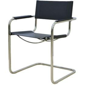 ブラック/デザイナーズ家具 リプロダクト マルトスアームチェア チェア 椅子 イス おしゃれ デザイナーズチェア ダイニングチェア ミッドセンチュリー 北欧 カンチレバー スチールフレーム マルト・スタム シンプル