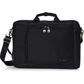 [バジェックス] ブリーフケース スリム型3wayビジネスバッグ 撥水 軽量 BLACK