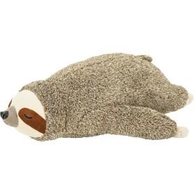 りぶはあと 寝そべり抱き枕 フラッフィーアニマルズ ナマケモノのノンノン Mサイズ W28xD36xH15cm 58612-32