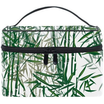 コスメポーチ 化粧品収納バッグ 洗面用具 おしゃれ竹
