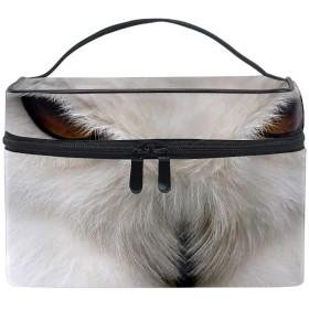化粧ポーチ 化粧品 収納 コスメポーチ レディース ポーチ 大容量 軽量 防水動物鳥フクロウ