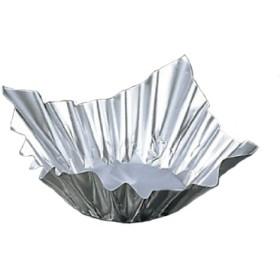 アルミ すき鍋(100枚入)小 銀 M33-244