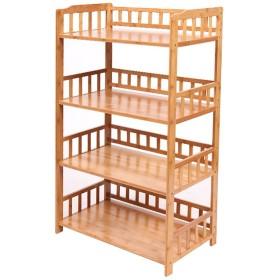RG- キッチン用棚貯蔵用ポット棚電子レンジ用シェルフオーブン用フレームフレーム4階建て多層4階建て木製(利用可能な60/70/80  114.5  38 cm) (サイズ さいず : 60 cm 60 cm)