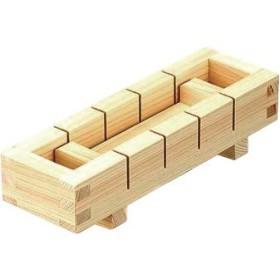 日本製 木曽ひのき材 木の目寿し型 5ツ切り [すし・スシ・寿司・押しずし]