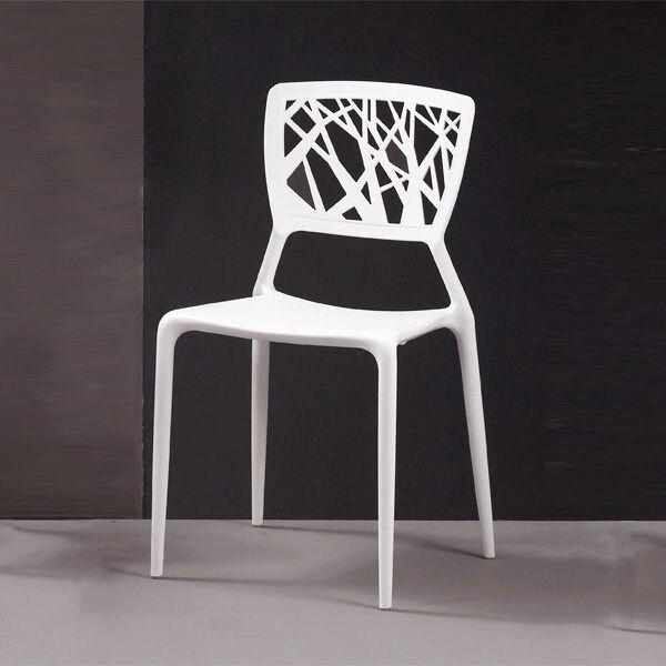 珍妮絲造型椅(白)/H&D東稻家居-消費滿3千送點數10%