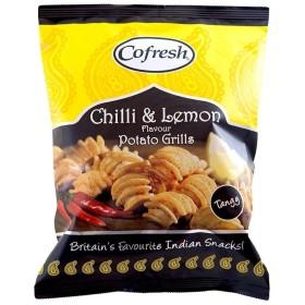 Cofresh Chilli & Lemon Potato Grills (90g) Cofresh唐辛子とレモンポテトグリル( 90グラム)