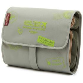 旅行収納ウォッシュバッグ、大型化粧品バッグ大容量女性男性ポータブル旅行ビジネス-23.5  6  18 cm(カラー:5)