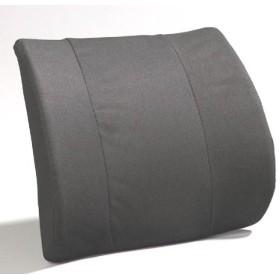 Personal Health Care Relaxation Equipment Premium Lumbar - Flat Back Molded Foam-Gray by Jobri
