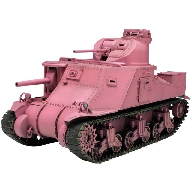 プラッツ 1/35 ガールズ&パンツァー M3中戦車 リー ウサギさんチーム プラモデル GP16