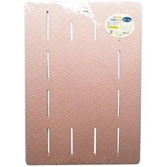 EVA樹脂製 ソフトタイプ 風呂マット シルキー ラバーマット ピンク