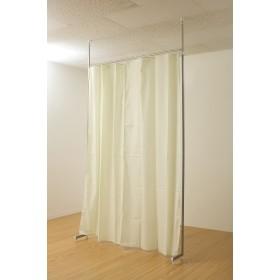 突っ張り目隠しカーテン(5カラー) (ライトグリーン)