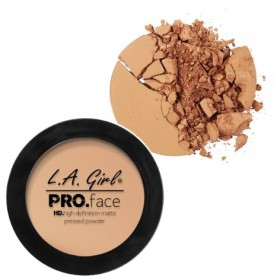 LA GIRL PRO Face Powder - Medium Beige (並行輸入品)
