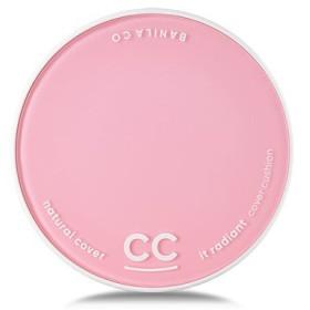 [Renewal] BANILA CO It Radiant CC Cover Cushion 12g + Refill 12g/バニラコ イット ラディアント CC カバー クッション 12g + リフィル 12g (#BE10) [並行輸入品]