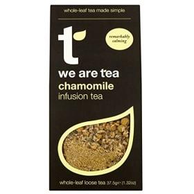 (We Are Tea (私たちはお茶です)) 全体カモミールの注入茶37.5グラム (x4) - We Are Tea Whole Chamomile Infusion Tea 37.5g (Pack of 4) [並行輸入品]