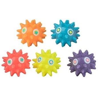 Bling Buddiezフローティング水のおもちゃバスタブとプール–5、プールBath Toys for Toddlers & Kids With再利用可能なキャリーケース–My Lil Peepz