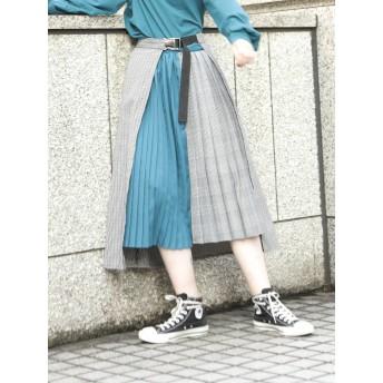 [jouetie]レイヤードプリーツスカート