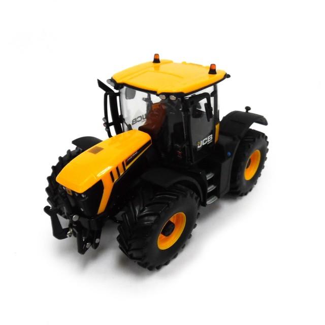 イギリス1:32 JCB 4220 Fastracトラクター - 収集可能な農場の車のおもちゃ - 3年から適した