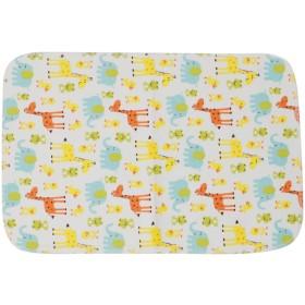 Biuuu 10個再使用可能なベビーコットンブレンドクロスおむつ新生児ソフトおむつ3つのレイヤーを挿入する