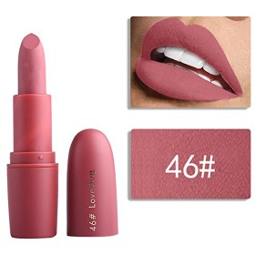 Miss Rose Nude Lipstick 22 colors Waterproof Vampire Brown Beauty Baby Lips Batom Matte lipstick Makeup Tats Eugenie Margherita