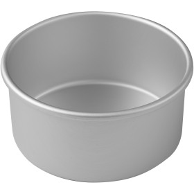Wilton Aluminium Decorator Preferred 15cm By 7.6cm Round Pan, New.