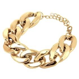 ゴールドBIGチェーンブレスレット【bracelet ルピス】/ゴールド