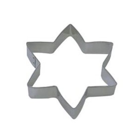Dress My Cupcake DMC41CC1087 Star 6-Point Cookie Cutter, 5-Inch by Dress My Cupcake [並行輸入品]